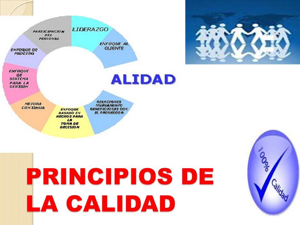 CALIDAD Philip Crosby: Calidad es cumplimiento de requisitos Joseph Juran: Calidad es adecuación al uso del cliente.