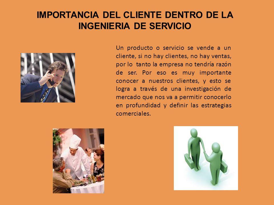 Un producto o servicio se vende a un cliente, si no hay clientes, no hay ventas, por lo tanto la empresa no tendría razón de ser. Por eso es muy impor