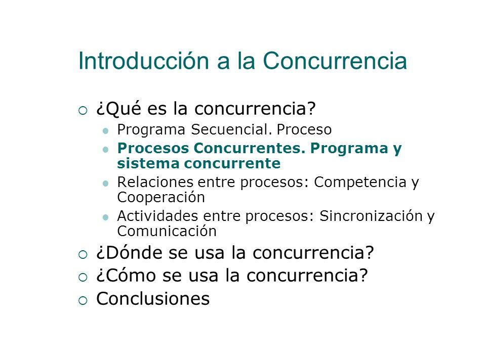 Programa Secuencial. Proceso Sistema OperativoPrograma Internamente Programa Secuencial Un fichero ejecutable (.exe) Conjunto de sentencias (Procedimi