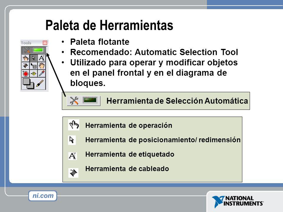 Herramienta de operación Herramienta de posicionamiento/ redimensión Herramienta de etiquetado Herramienta de cableado Paleta flotante Recomendado: Au