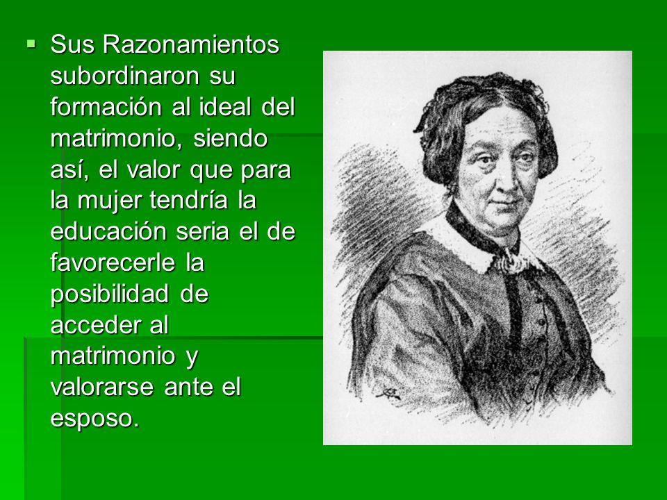 Década de 1840: Mercedes Marín del Solar.