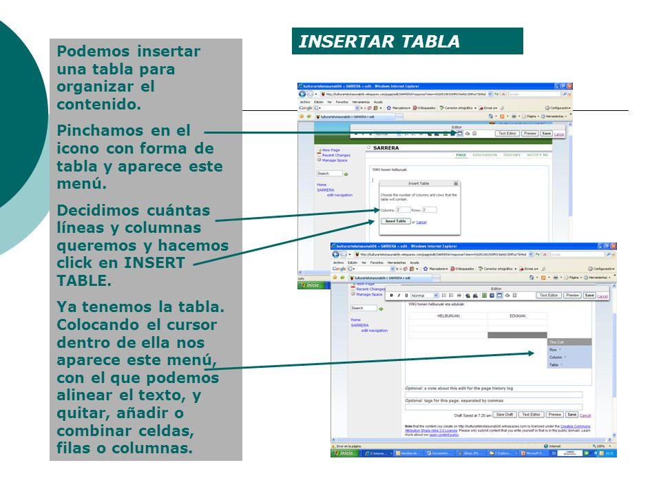 Los textos de los wikis son hipertextos, es decir, contienen diversos vínculos que nos remiten a otros lugares de la red en los que puedes ampliar la información.