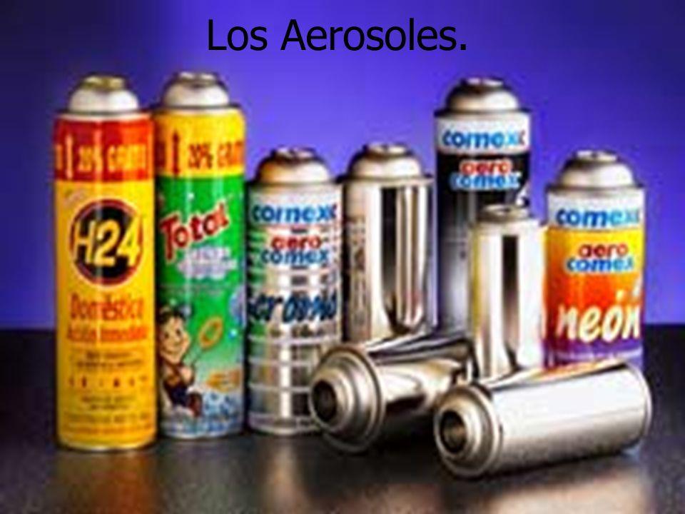 Los Aerosoles.