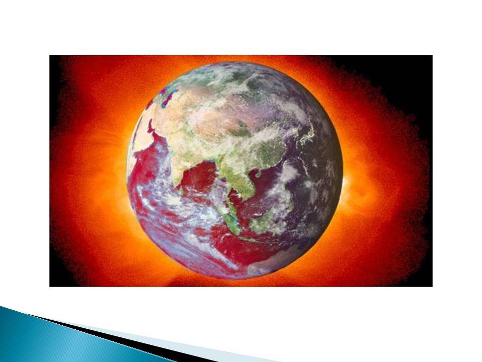 La atmósfera de la Tierra está compuesta de muchos gases.