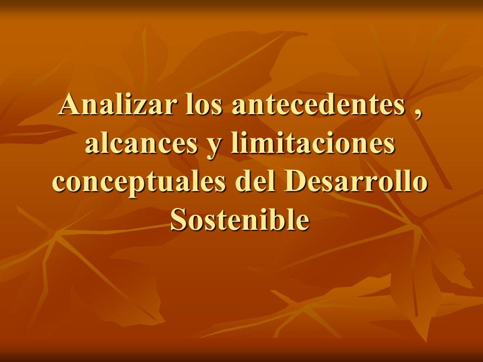 Metodologías, modelos y aplicaciones de la evaluación de la sostenibilidad y sus indicadores.