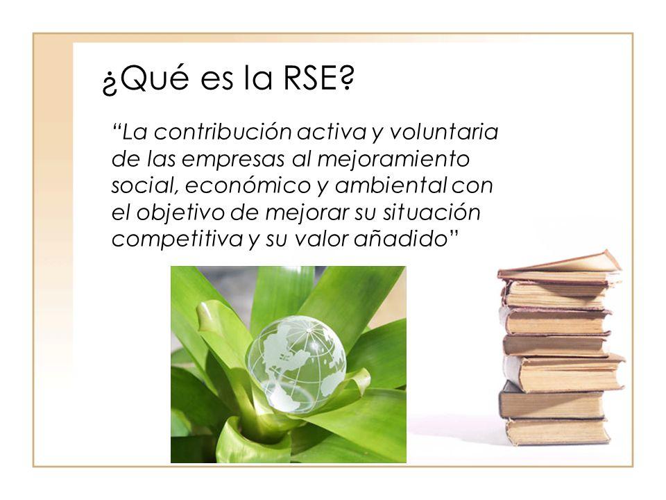 ¿Qué es la RSE.