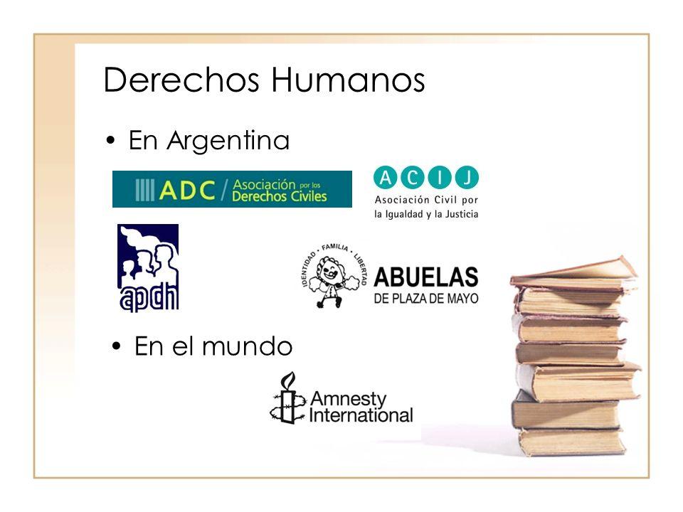 Derechos Humanos En Argentina En el mundo