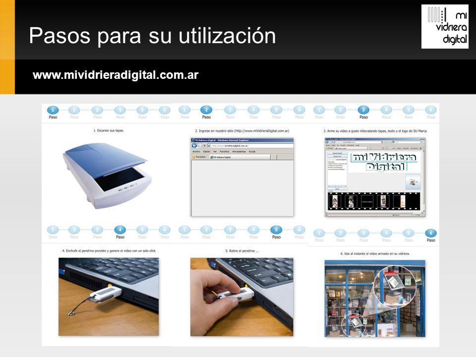 Pasos para su utilización www.mividrieradigital.com.ar
