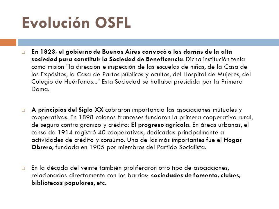 En 1823, el gobierno de Buenos Aires convocó a las damas de la alta sociedad para constituir la Sociedad de Beneficencia. Dicha institución tenía como