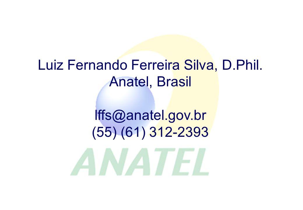 Los Modelos de Competencia e Inversión Luiz Fernando Ferreira Silva, D.Phil.