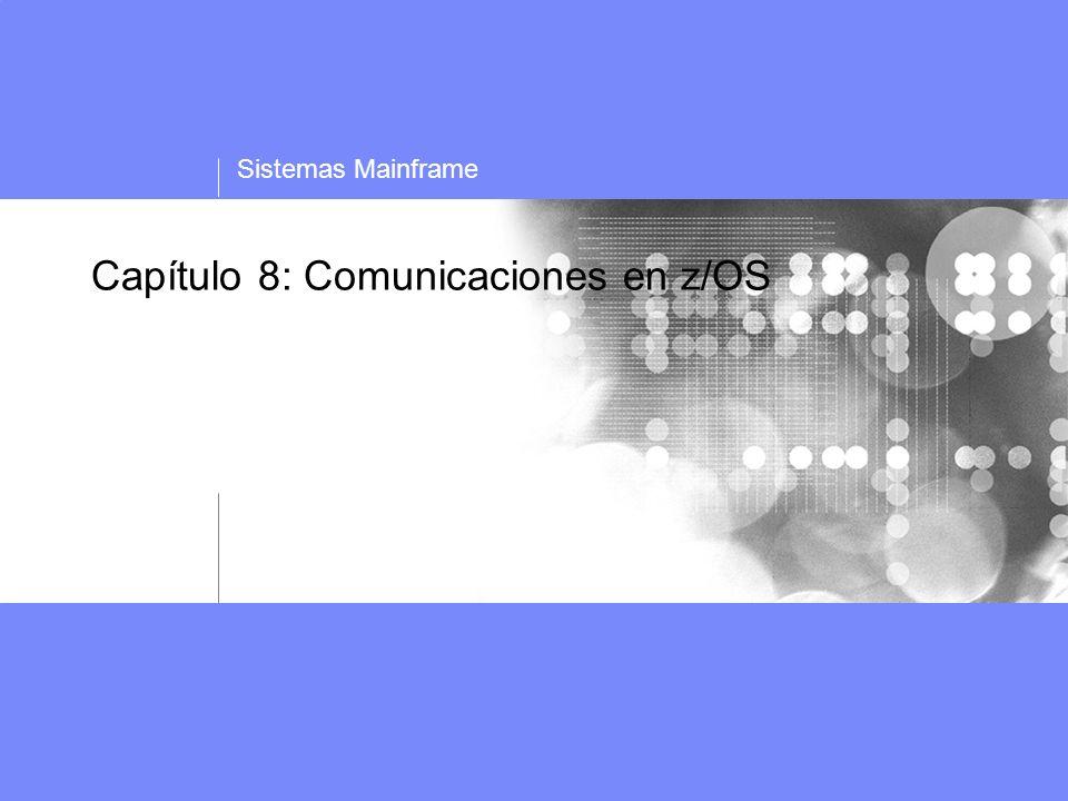 Capítulo 8. Comunicaciones en zOS 12 Topología APPN