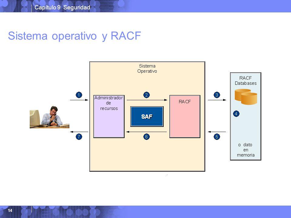 Capítulo 9 Seguridad 14 Sistema operativo y RACF