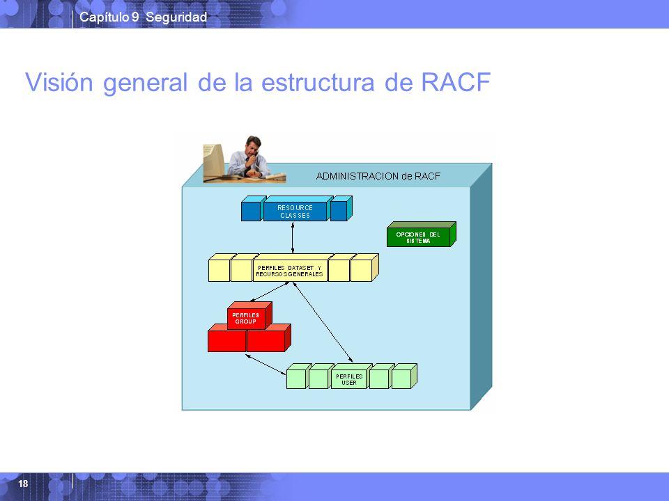 Capítulo 9 Seguridad 18 Visión general de la estructura de RACF