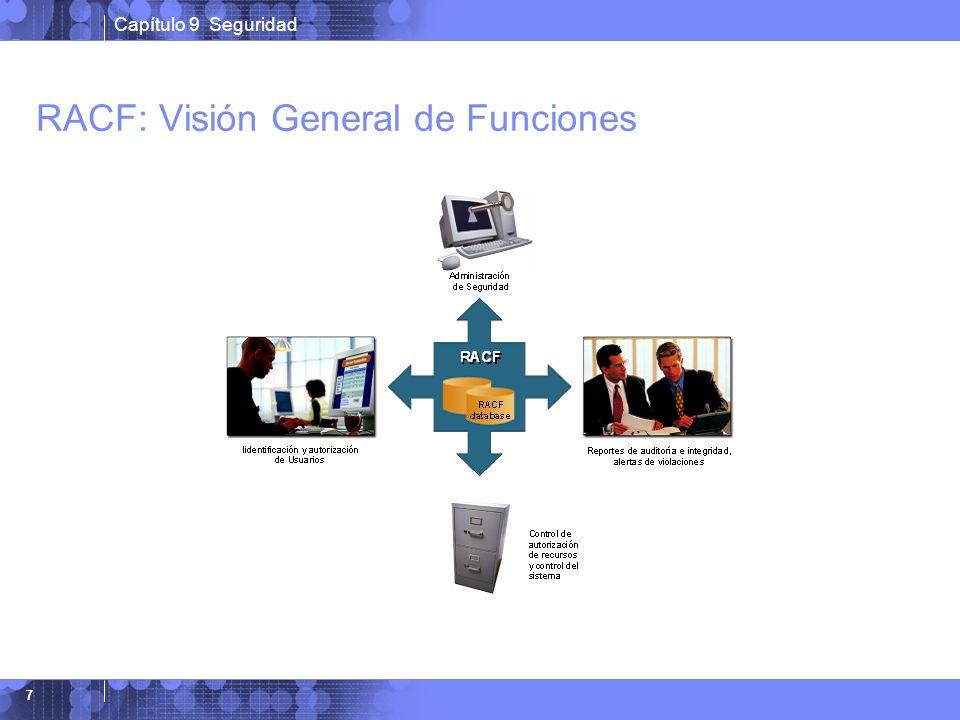 Capítulo 9 Seguridad 7 RACF: Visión General de Funciones