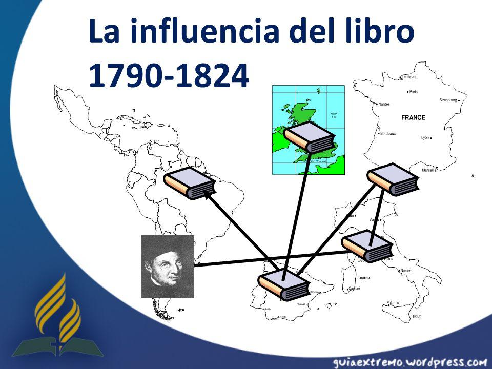La influencia del libro 1790-1824