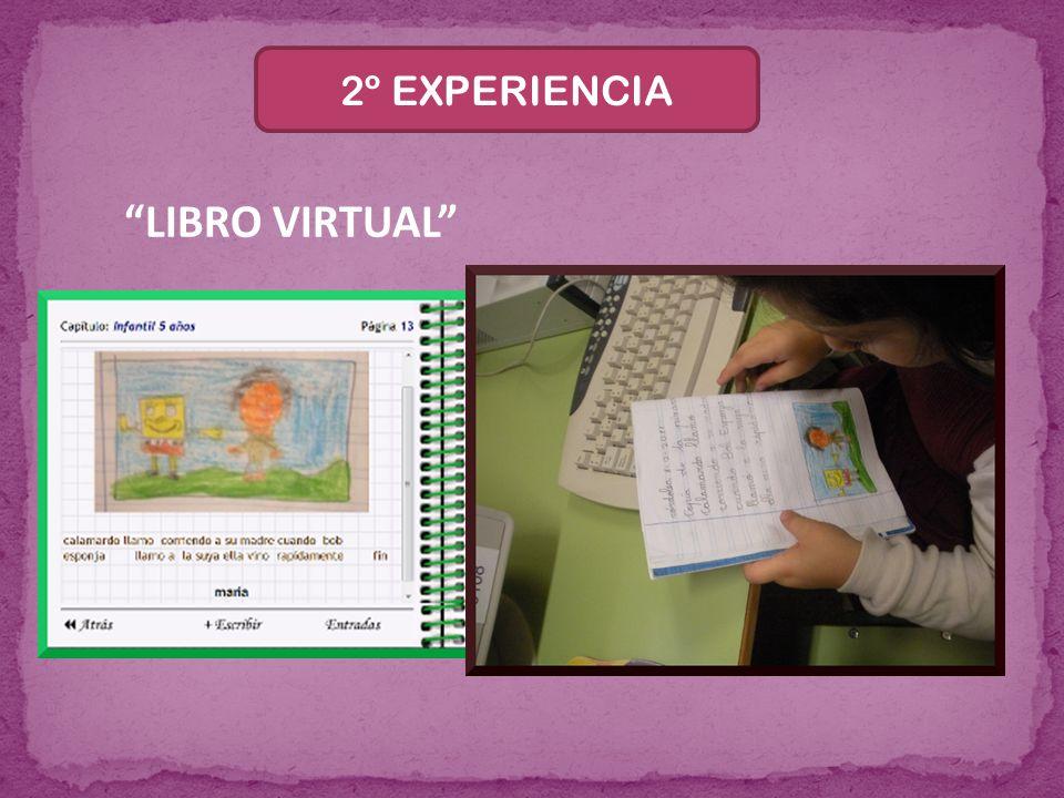2º EXPERIENCIA LIBRO VIRTUAL