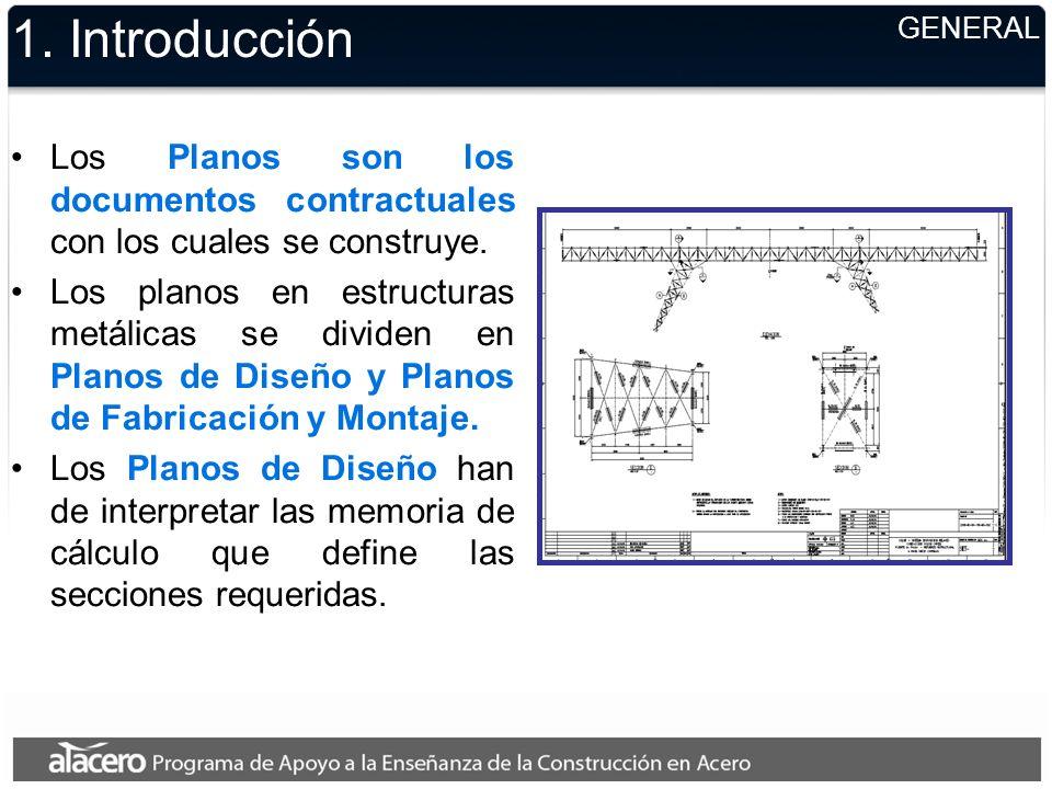 2.Detallamiento 5.Se indicarán las siguientes notas, Soldaduras, diámetros, agujeros.
