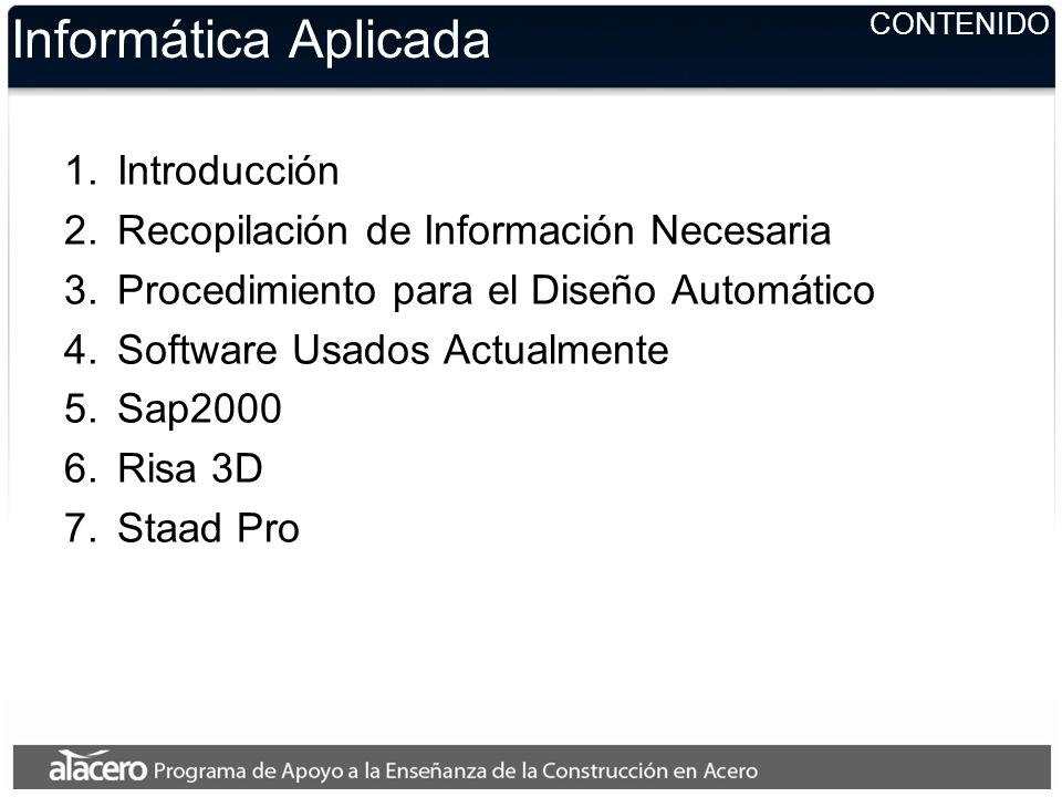 Informática Aplicada Phillipo G. Correa Marchant Departamento de Ingeniería Civil, Universidad de Chile Santiago, Chile Marzo de 2007 Elaboración, gui