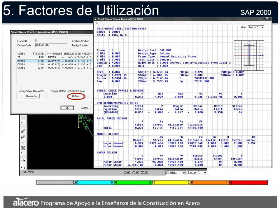5. Modelo Final SAP 2000