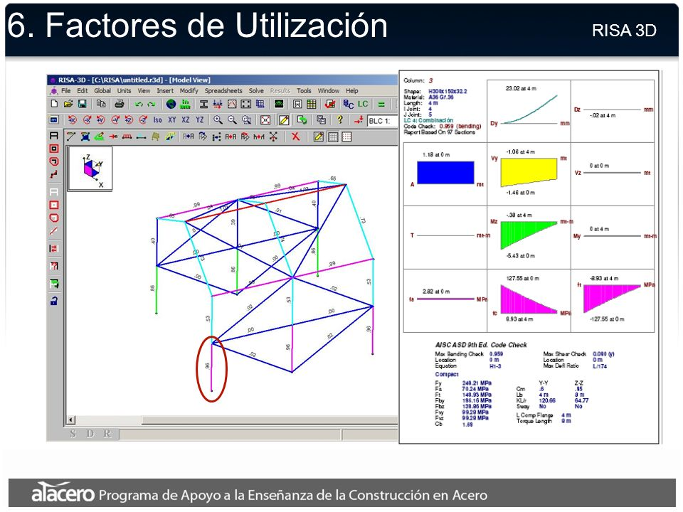 6. Modelo Final RISA 3D
