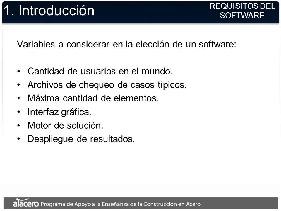 1. Introducción El Diseño Estructural es de exclusiva responsabilidad del ingeniero civil a cargo de la estructura. Si bien en la actualidad existen s