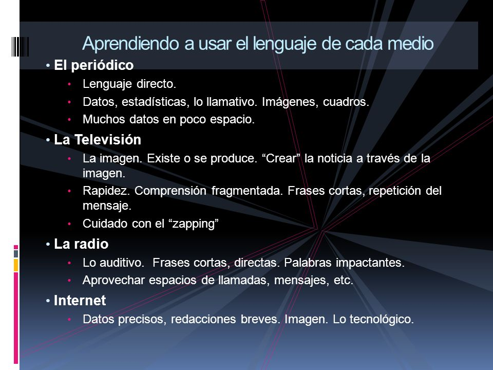 El periódico Lenguaje directo.Datos, estadísticas, lo llamativo.