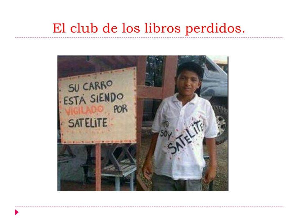 El club de los libros perdidos.
