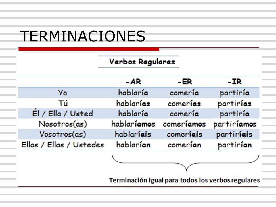 TERMINACIONES