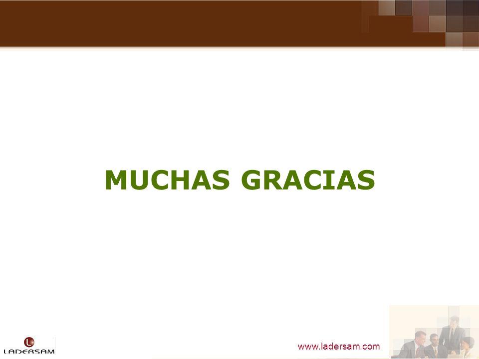 www.ladersam.com MUCHAS GRACIAS