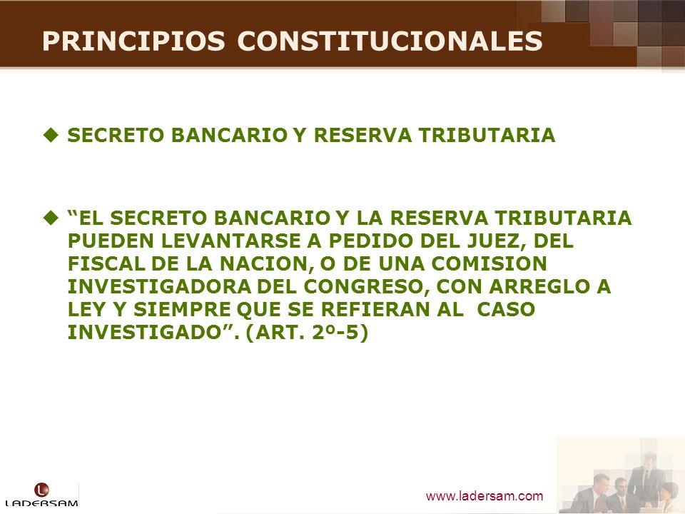 www.ladersam.com PRINCIPIOS CONSTITUCIONALES DERECHO DE PETICION TODA PERSONA TIENE DERECHO A FORMULAR PETICIONES, INDIVIDUAL O COLECTIVAMENTE, POR ESCRITO ANTE LA AUTORIDAD COMPETENTE, LA QUE ESTA OBLIGADA A DAR AL INTERESADO UNA RESPUESTA TAMBIEN POR ESCRITO DENTRO DEL PLAZO LEGAL, BAJO RESPONSABILIDAD.