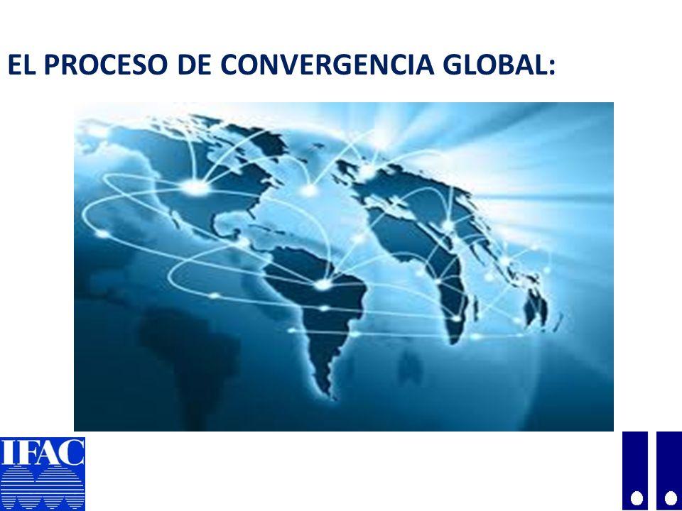 PROCESO DE CONVERGENCIA GLOBAL : Organizaciones Globales: Federación Internacional de Contadores - IFAC (International Federation of Accountants).