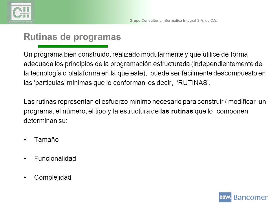 Un programa bien construido, realizado modularmente y que utilice de forma adecuada los principios de la programación estructurada (independientemente