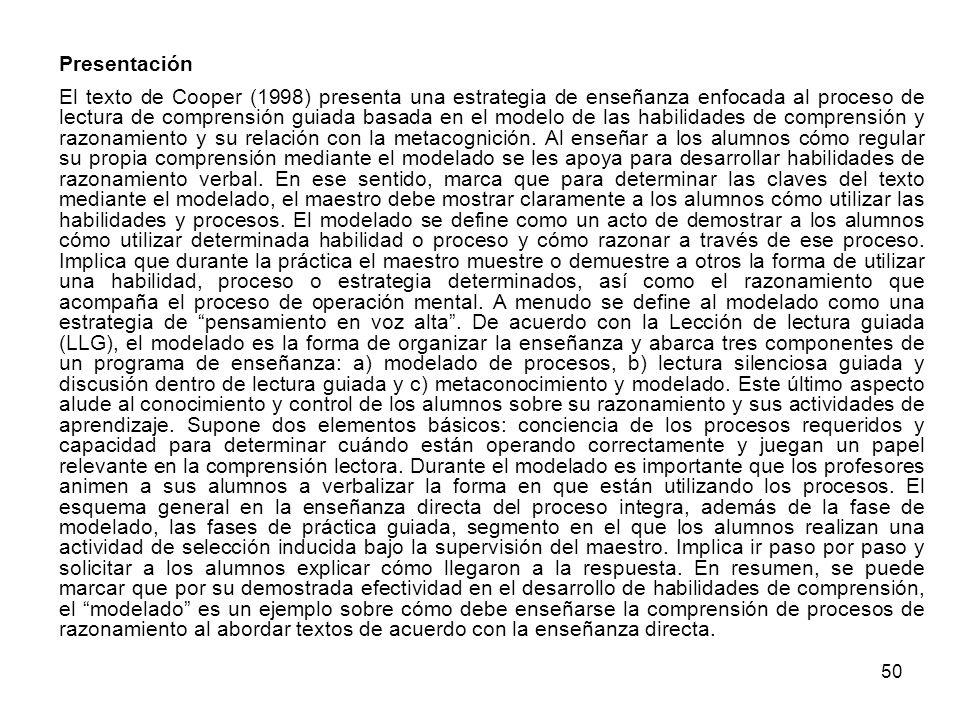 49 UNIDAD 4. Lenguaje Escrito: procesos cognitivos de la lectoescritura e intervención Presentación En el texto, Sánchez (2001) se plantea que la leng