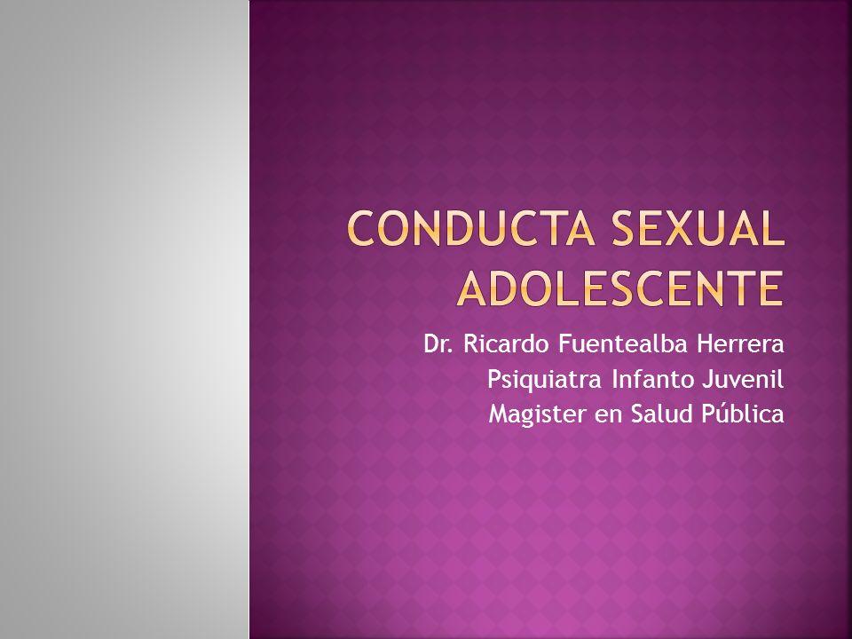 Dr. Ricardo Fuentealba Herrera Psiquiatra Infanto Juvenil Magister en Salud Pública
