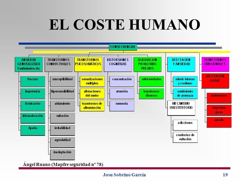 Josu Sobrino García19 EL COSTE HUMANO Ángel Ruano (Mapfre seguridad nº 78)