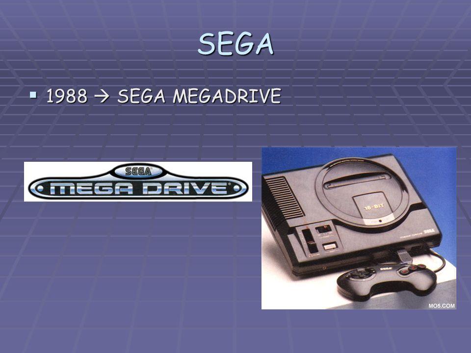 SEGA 1988 SEGA MEGADRIVE 1988 SEGA MEGADRIVE