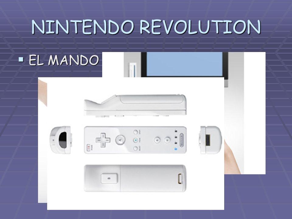 NINTENDO REVOLUTION EL MANDO EL MANDO