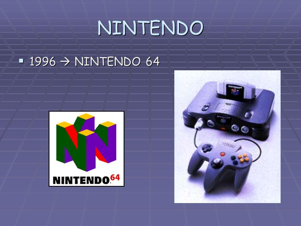 NINTENDO 1996 NINTENDO 64 1996 NINTENDO 64