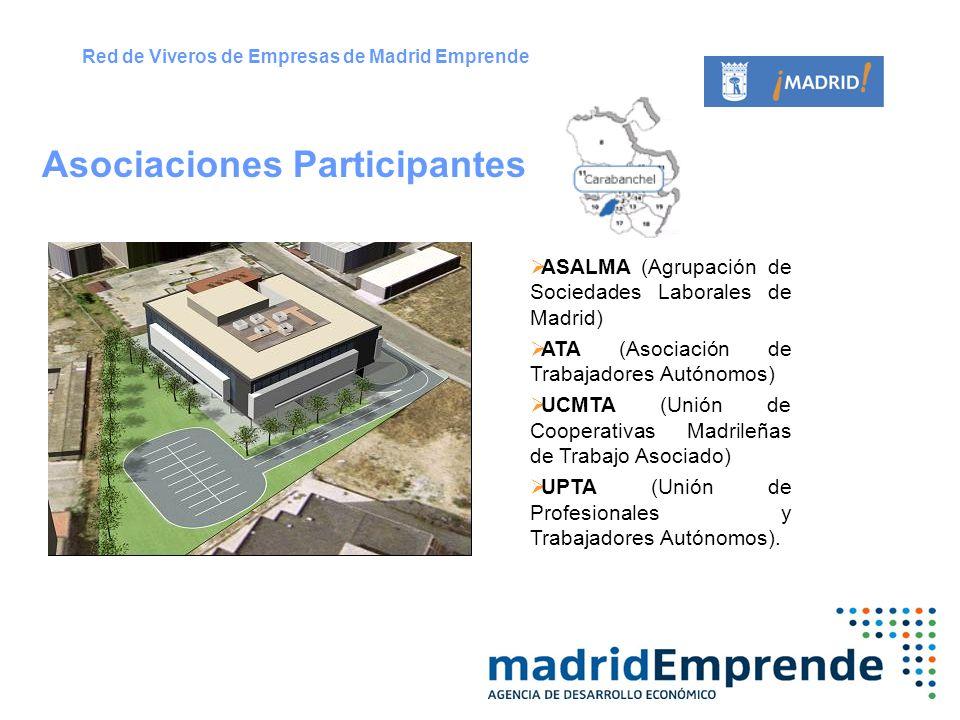 ASALMA (Agrupación de Sociedades Laborales de Madrid) ATA (Asociación de Trabajadores Autónomos) UCMTA (Unión de Cooperativas Madrileñas de Trabajo As