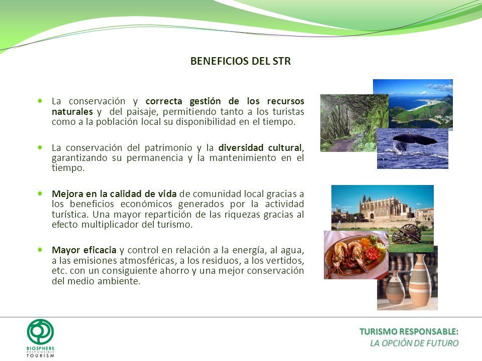 La conservación y correcta gestión de los recursos naturales y del paisaje, permitiendo tanto a los turistas como a la población local su disponibilid