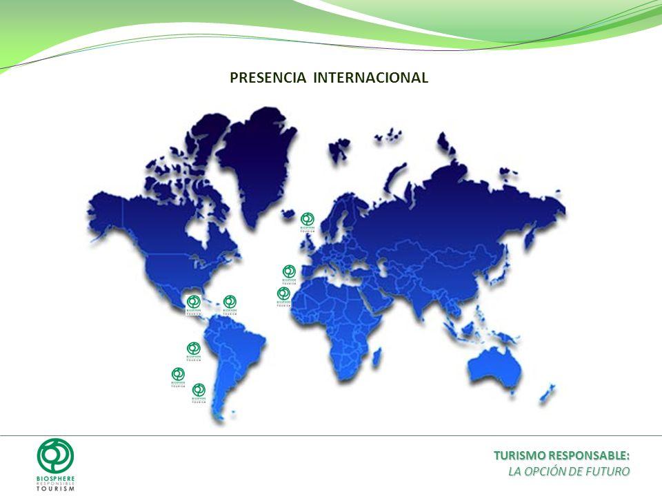 PRESENCIA INTERNACIONAL TURISMO RESPONSABLE: LA OPCIÓN DE FUTURO
