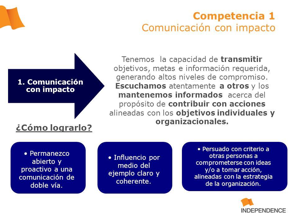 Tenemos la capacidad de transmitir objetivos, metas e información requerida, generando altos niveles de compromiso. Escuchamos atentamente a otros y l