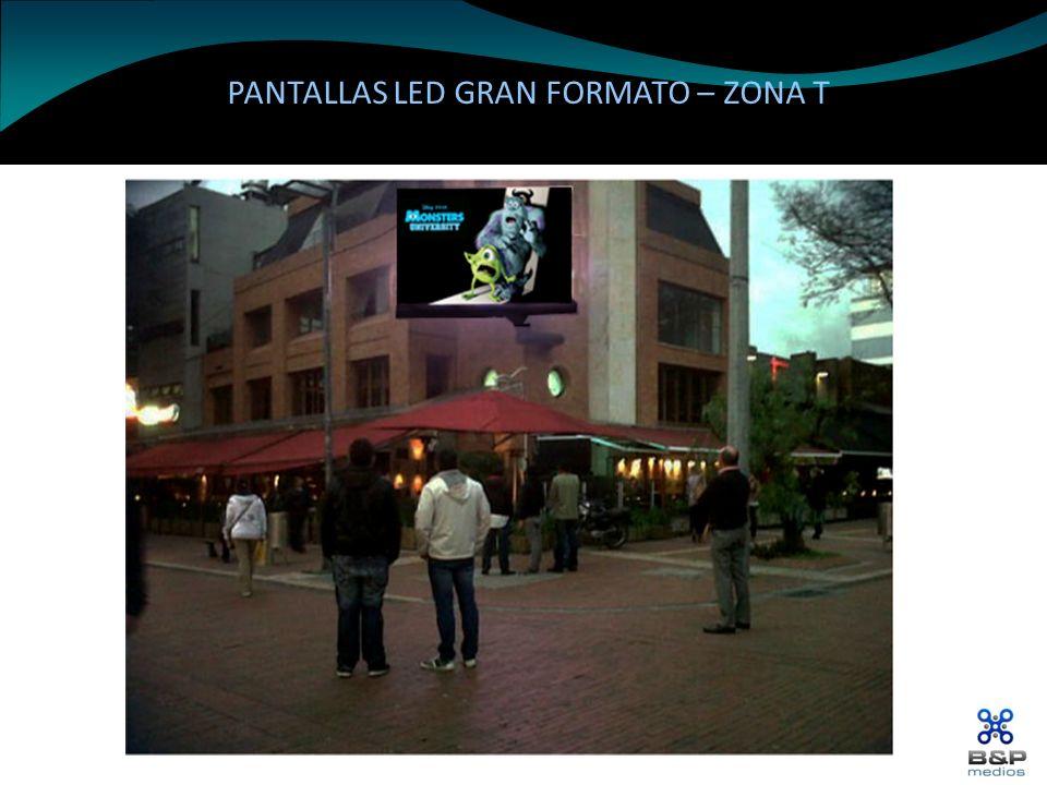 PANTALLAS LED GRAN FORMATO – ZONA T