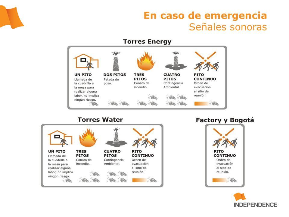 Plan de Emergencias Oficinas Bogotá – Ala Oriental