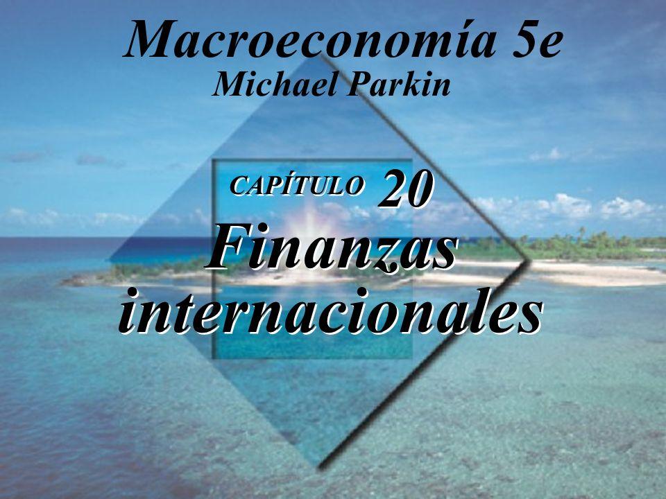 CAPÍTULO 20 Finanzas internacionales Michael Parkin Macroeconomía 5e