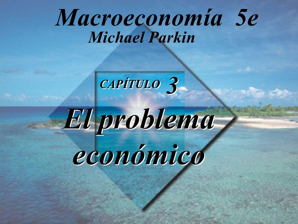 CAPÍTULO 3 El problema económico CAPÍTULO 3 El problema económico Michael Parkin Macroeconomía 5e