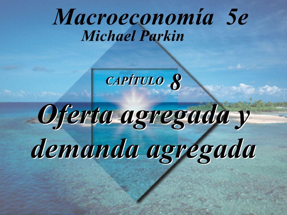 CAPÍTULO 8 Oferta agregada y demanda agregada Michael Parkin Macroeconomía 5e