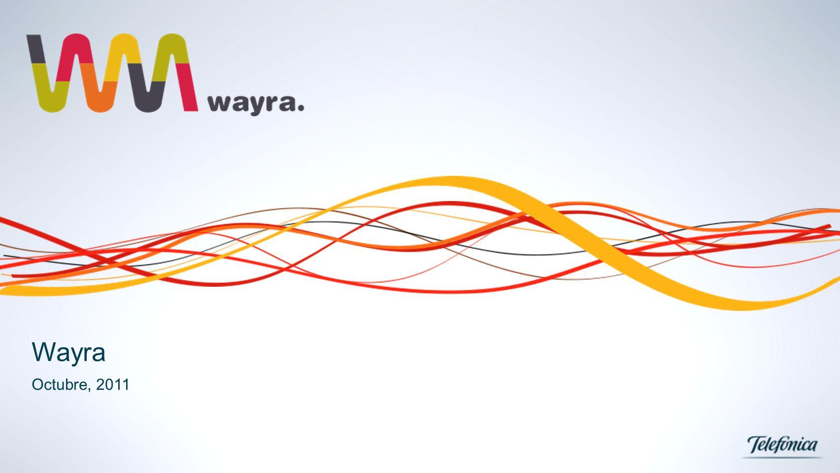 Wayra Octubre, 2011