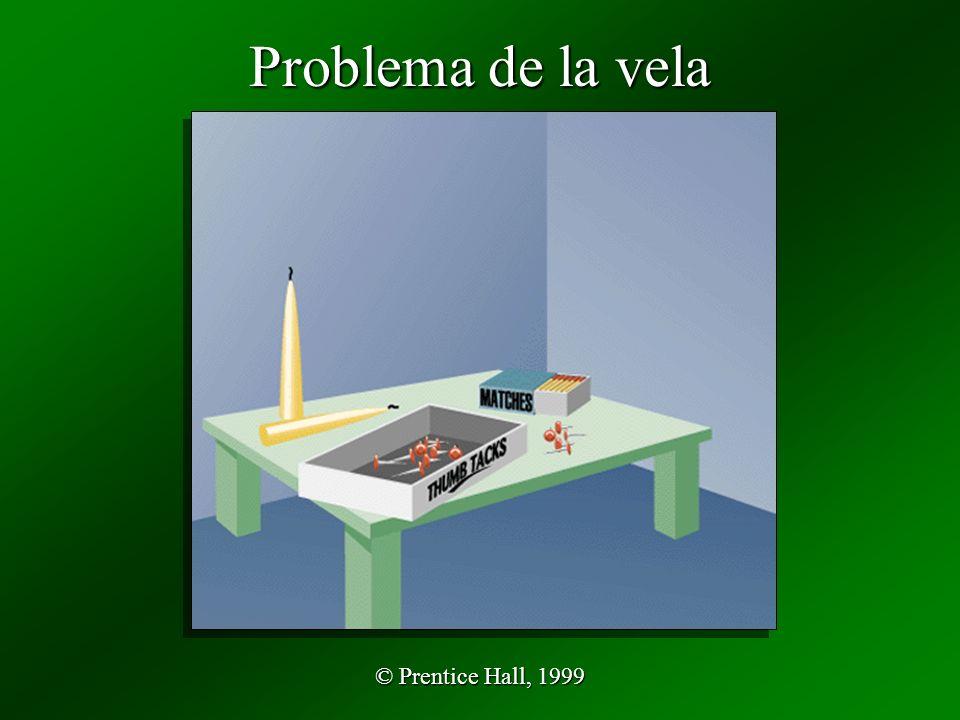 © Prentice Hall, 1999 Problema de la vela