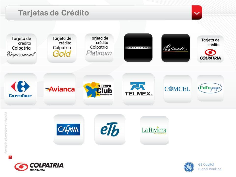 Tarjeta de Crédito Colpatria Clásica Beneficios Por cada $1.000 en compras obtiene 1 punto.